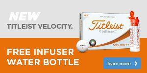 Titleist Free Velocity Infuser Drinks Bottle